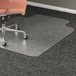 Lorell Wide Lip Medium Pile Chairmat