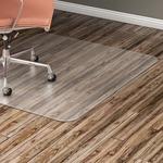 "Lorell Hard Floor 60"" Rectangular Chairmat"