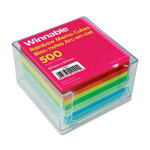 Winnable Rainbow Note Sheets Memo Cube
