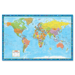 CCC Super Large Wall Map