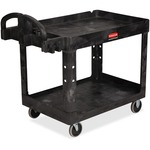 Rubbermaid Heavy-duty Two-tiered Utility Cart