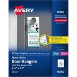 Avery® Door Hanger with Tear-Away Cards