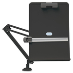 Exponent Microport Ergocurved Deskclamp Flex Arm Copyholder