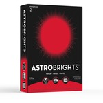 Astrobrights Print Colored Paper Re-entry Red