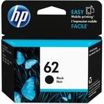 HP 62 Original Ink Cartridge - Single Pack - Inkjet - 200 Pages - Black - 1 Each