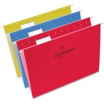 Continental 1/5-cut Tab Letter Size Hanging Folder
