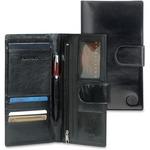 MANCINI EQUESTRIAN-2 Carrying Case (Wallet) Passport, Credit Card, Ticket - Black