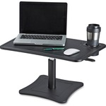 Victor High Rise Height Adjustable Laptop Stand with Storage Cup