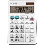 Sharp Calculators EL-330WB 10-Digit Professional Desktop Calculator