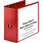 Sparco Easy Open Nonstick D-Ring View Binder