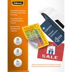 Fellowes EasyMove Thermal Laminating Pouches