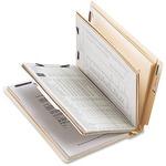 Business Source 6-Part End Tab Classification Folders