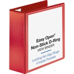 Business Source Red D-ring Binder