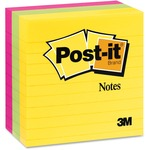 Post-it® Lined Notes in Ultra Colors