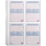 Sparco 4CPP Carbonless Telephone Message Book