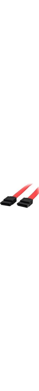 StarTech.com 18in SATA Serial ATA Cable - 1 x Female SATA - 1 x Female SATA - Red