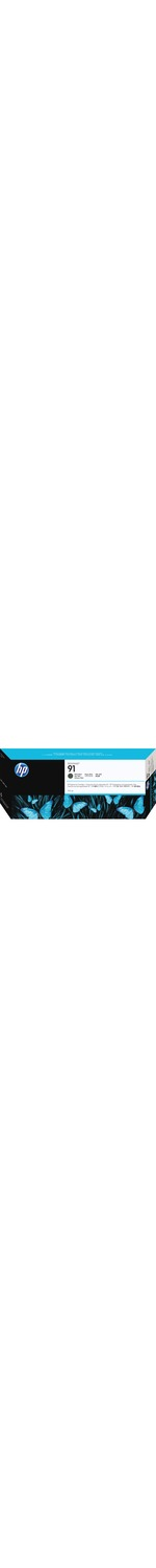 HP No. 91 Ink Cartridge - Matte Black - C9464A