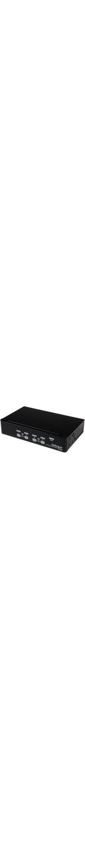 StarTech.com 4 Port 1U Rackmount USB KVM Switch with OSD - 4 x 1 - 4 x HD-15 Keyboard/Mouse/Video - 1U - Rack-mountable