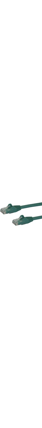 StarTech.com 25 ft Green Snagless Cat6 UTP Patch Cable - Category 6 - 25 ft - 1 x RJ-45 Male Network - 1 x RJ-45 Male Network - Green