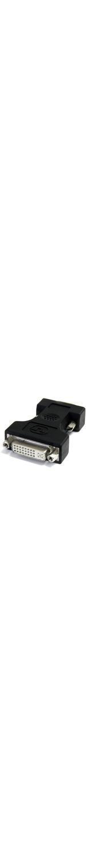 StarTech.com DVI to VGA Cable Adapter - Black - F/M - 1 x HD-15 Male VGA - Black
