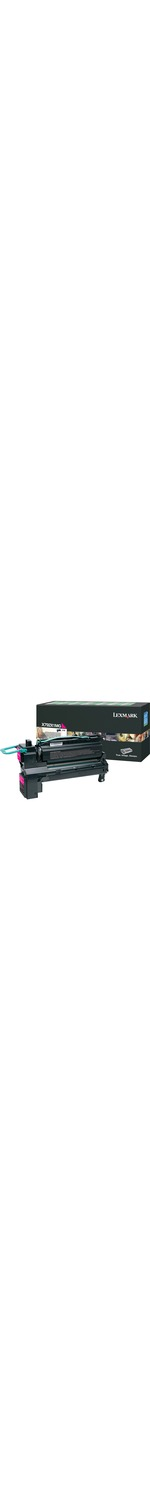 Lexmark X792X1MG Toner Cartridge - Magenta