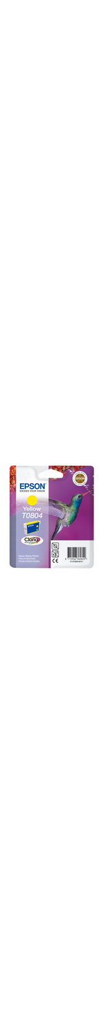 Epson Claria T0804 Ink Cartridge - Yellow
