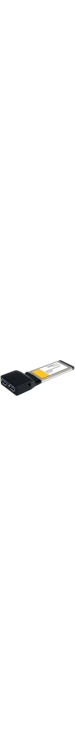 StarTech.com 2 Port ExpressCard SuperSpeed USB 3.0 Card Adapter with UASP Support