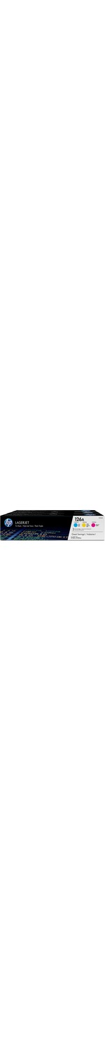 HP 126A Toner Cartridge - Assorted - Laser - 1000 Page - 3 / Box