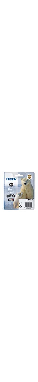 Epson Claria 26XL Ink Cartridge - Photo Black - Inkjet - 400 Page - 1 Pack