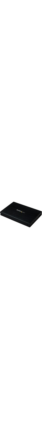 StarTech.com 2.5in Aluminum USB 3.0 External SATA III SSD Hard Drive Enclosure with UASP for SATA 6 Gbps