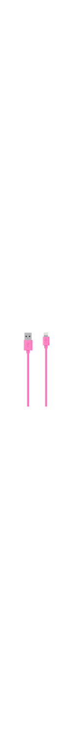 Belkin MIXIT? Lightning/USB Data Transfer Cable for iPhone, iPod, iPad, Notebook - 1.20 m