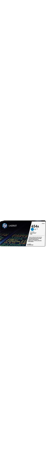 HP 654A Toner Cartridge - Cyan