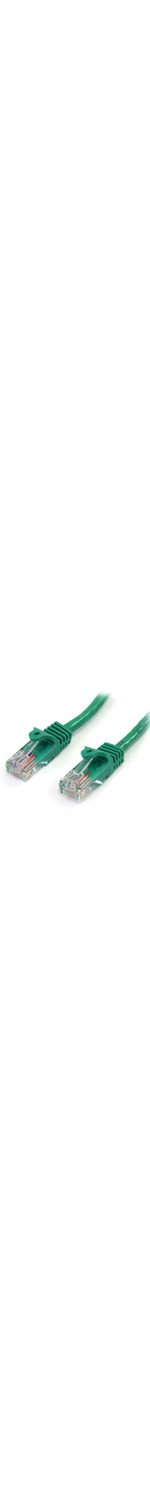 StarTech.com 1m Green Cat5e Snagless RJ45 UTP Patch Cable - 1m Patch Cord - 1 x RJ-45 Male Network