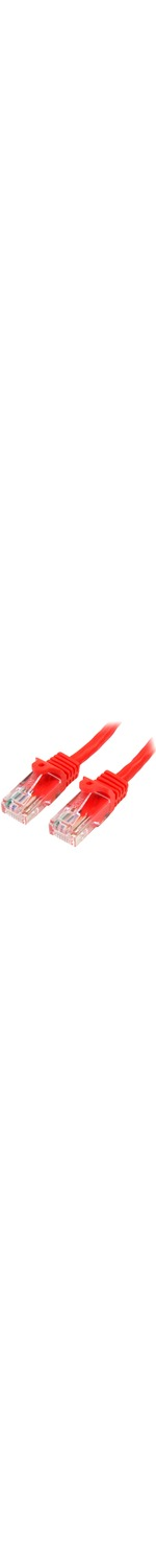 StarTech.com 2 m Red Cat5e Snagless RJ45 UTP Patch Cable - 2m Patch Cord - 1 x RJ-45 Male Network