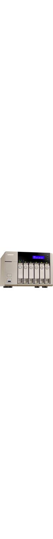 QNAP Turbo vNAS TVS-663 6 x Total Bays NAS Server - Tower - AMD Quad-core 4 Core 2.40 GHz