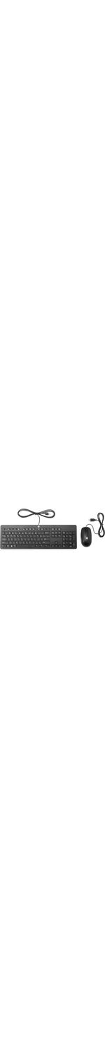 HP Slim Keyboard Andamp; Mouse - USB Cable - English UK