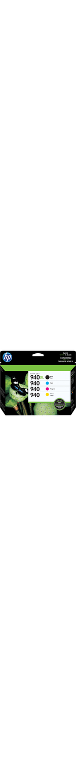 HP 940XL Ink Cartridge - Cyan, Magenta, Yellow, Black