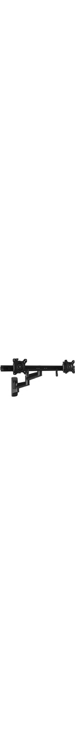 StarTech.com Wall Mount Dual Monitor Arm - Articulating - Dual Monitor Wall Mount - For Two 15And#34; to 24And#34; Monitors - VESA Mount - Steel - 2 Displays Supported61 cm Sc