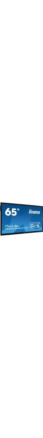 iiyama Prolite TE6503MIS-B1AG All-in-One Computer - Cortex A73 - 4 GB RAM - 163.8 cm 64.5And#34; 3840 x 2160 Touchscreen Display - Desktop - Matte Black - ARM Mali G51 -