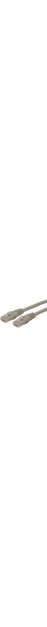 StarTech.com 50 ft Gray Molded Cat6 UTP Patch Cable - ETL Verified - Category 6 - 50ft - Gray