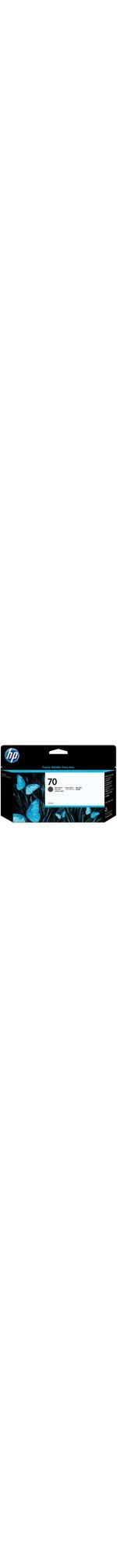 HP No. 70 Ink Cartridge - Matte Black
