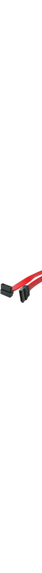 StarTech.com 12in SATA to Right Angle SATA Serial ATA Cable - SATA - SATA