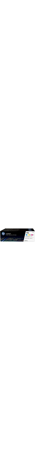 HP 128A Toner Cartridge - Cyan, Magenta, Yellow