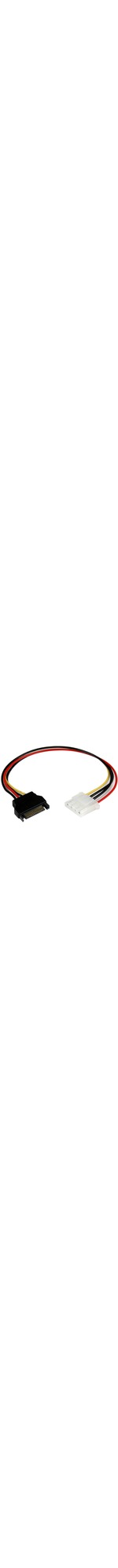 StarTech.com 12in SATA to Molex LP4 Power Cable Adapter - F/M - For Hard Drive