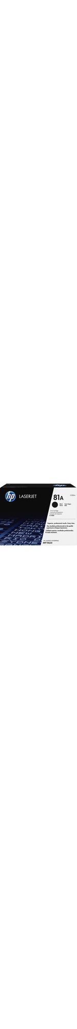 HP 81A Toner Cartridge - Black