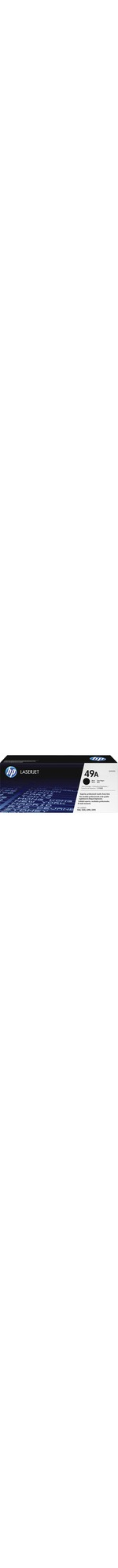 HP 49A Toner Cartridge - Black - Laser - 2500 Page - 1 Each
