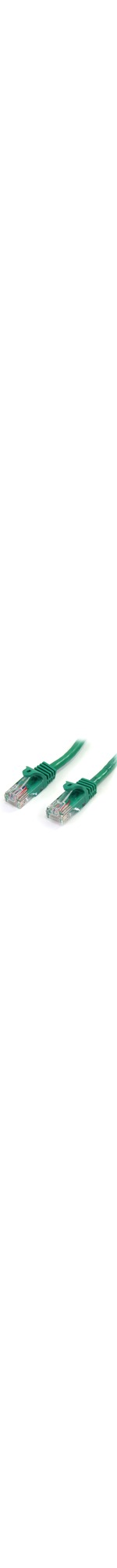StarTech.com 2 m Green Cat5e Snagless RJ45 UTP Patch Cable - 2m Patch Cord - 1 x RJ-45 Male Network