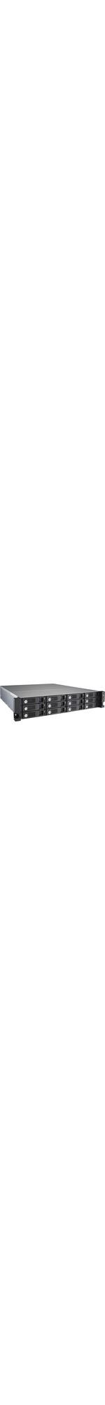 QNAP Turbo vNAS TVS-1271U-RP 12 x Total Bays SAN/NAS Server - 2U - Rack-mountable - Intel Core i7