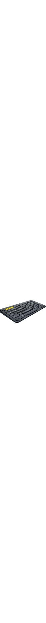 Logitech K380 Keyboard - Wireless Connectivity - Bluetooth - Black
