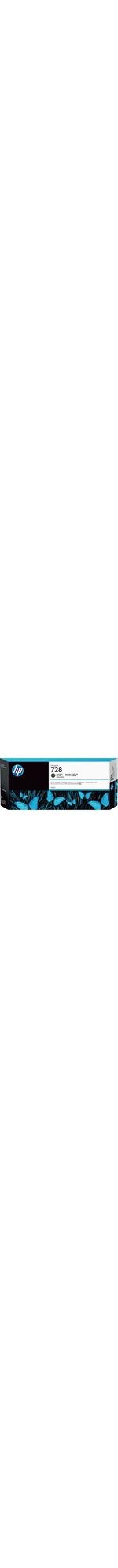HP 728 Original Ink Cartridge - Matte Black - Inkjet